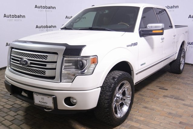 2014 F150 Platinum >> Pre Owned 2014 Ford F 150 Platinum With Navigation 4wd