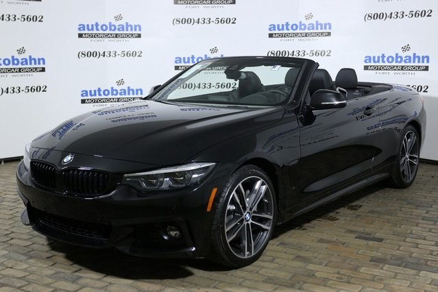 New 2019 BMW 4 Series 440i Convertible