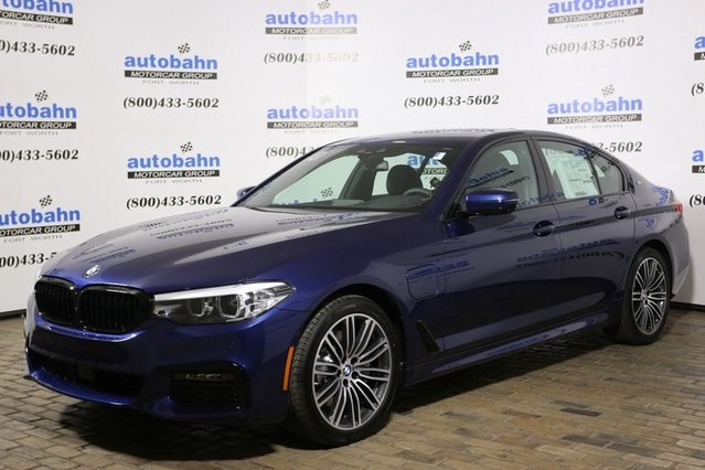 New 2019 BMW 5 series 530e
