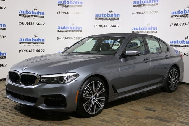 New 2019 Bmw 5 Series 540i 4d Sedan In Fort Worth B21692 Autobahn