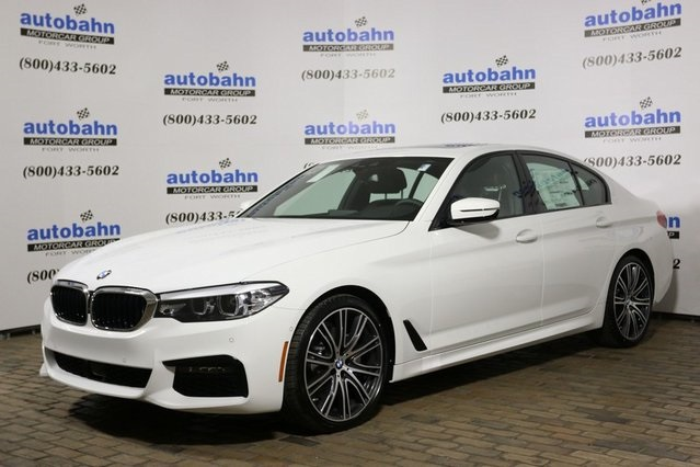 New 2019 Bmw 5 Series 540i 4d Sedan In Fort Worth B21710 Autobahn