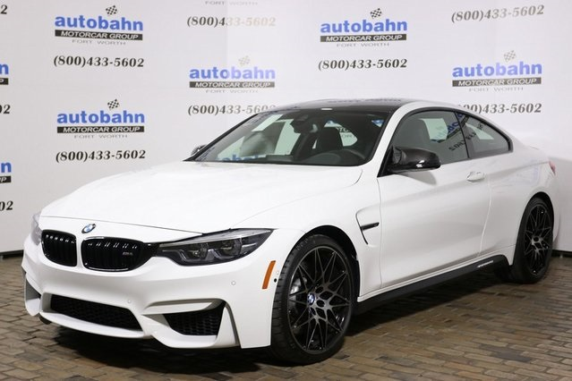 Bmw M4 Coupe >> New 2018 Bmw M4 Coupe 2d Coupe In Fort Worth B21537 Autobahn Bmw