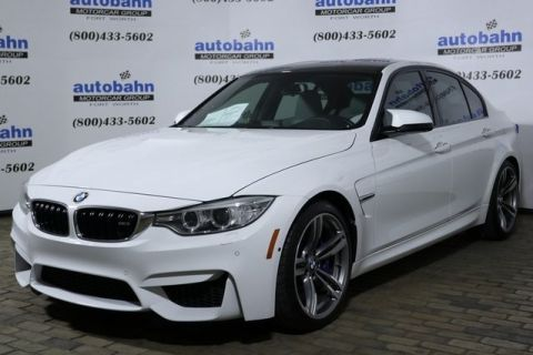 Certified Pre-Owned 2016 BMW M3 Base